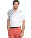 for Tasso Elba Golf Shirt, Pixelated Slim Fit Polo