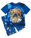 Kids Pajamas, Boys or Little Boys Star Wars Angry 