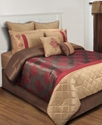 Freemont 24 Piece Queen Comforter Set Bedding