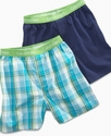 Kids Underwear, Boys 2-Pack Knit Boxers