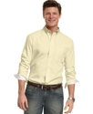 Shirts, Solid Long-Sleeved Estate Shirt