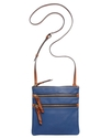 Handbag, North South Triple Zip Crossbody