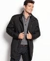 Jacket, Barclay Water Resistant Military Car Coat
