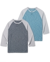 Shirt, Baseball Henley
