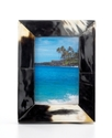 Heart of Haiti Picture Frame, Horn 4   x 6