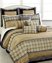Worton 12 Piece Full Comforter Set Bedding
