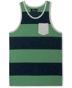 T-Shirt, Rugby Stripe Tank Top