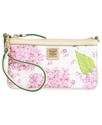 Handbag, Flower Large Slim Wristlet
