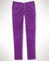 Kids Pant, Little Girl Cord Skinnys