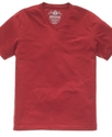 T Shirt, Basic EDV Slub V Neck