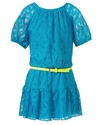 Kids Dress, Girls Lace Drop Waist Dress