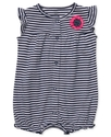 Carter's Baby Romper, Baby Girls Rosette Striped C