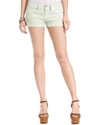 Juniors Shorts, Denim Crochet-Knit