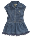 GUESS Girls Dress, Little Girls Shirtdress