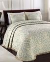All over Brocade Twin Bedspread Bedding