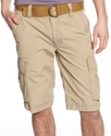 Shorts, Micro Canvas Cargo Shorts