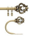 CHF Peri Window Hardware, Geneva Scroll Drapery Ro