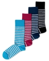 Men's Socks, Two Tone Stripe Single Pack