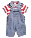 Baby Set, Baby Boys Shirt and Shortall
