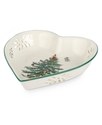 Serveware, Christmas Tree Pierced Heart Bowl