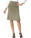 Petite Skirt, Pleated