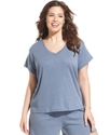 Plus Size Pajamas, Sleepwear Tee
