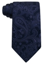 Donald Trump Tie, Platinum Paisley Silk