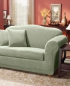 Slipcovers, Stretch Pinstripe 2-Piece Sofa Cover B
