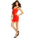 Juniors Dress, Sleeveless Textured Bodycon
