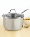Chef's Classic Stainless Steel Covered Cook-and-Po