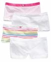 Kids Underwear, Girls 2-Pack Seamless Boy Shorts