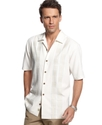 Big and Tall Shirt, Four Amigos Short Sleeve Silk