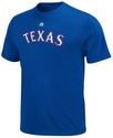 MLB Big and Tall T-Shirt, Texas Rangers Team Tee