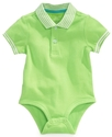 Playwear Bodysuit, Baby Boys Polo Bodysuit