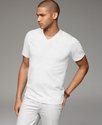 T Shirt, Core Slub V Neck Tee Shirt