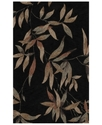 Dalyn Area Rug, Studio SD4 Black 5'X7'9