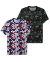 Shirt, Short Sleeve Star Camo Print T Shirt