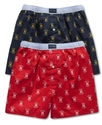 Men's Underwear, Logo Printed Boxer