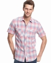 Shirt, Short Sleeve Wistful Madras Shirt