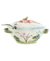 Serveware, Flourish Tureen with Ladle