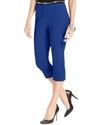 Pants, Curvy-Fit Pull-On Capri