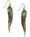 RACHEL Rachel Roy Earrings, Worn Rose Gold-Tone Ra