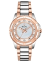 Watch, Women&#39;s Diamond Accent Two-Tone Stainless S