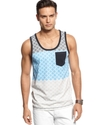 Shirt, Geo Tank