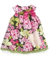 Baby Dress, Baby Girls Floral Trapeze Sundress