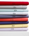 Lacoste Bedding, Pair of Brushed Twill King Pillow