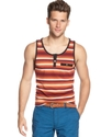 T-Shirt, Pique Stripe Tank