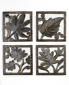 Wall Art, Metal Leaf Panels