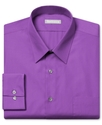 Dress Shirt, Fitted Royalty Poplin Long Sleeve Shi