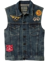 Vest, Glen Rock Denim Vest, Stoney Point
